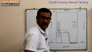 Vastu Tips For South Facing Utensil factory   Vastu Bansal   Dr  Rajender Bansal