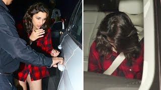 Parineeti Chopra SPOTTED At Tote On The Turf Restaurant