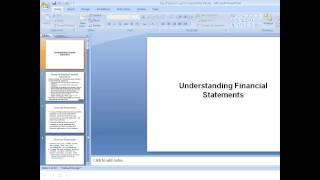 2013 11 07 11 05 CII OMCs on Fundamentals of Finance for MSMEs   Understanding Balance Sheet , Profi