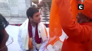 Rahul Gandhi pays reverence at Ajmer Sharif Dargah & Brahma Sarovar amidst campaigning