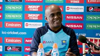 4 July, Derby Sri Lanka Sri Lanka bowling coach Ossie Weerasinghe pre match press conference