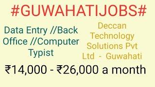 #GUWAHATI#JOBSnearme|Jobs in GUWAHATI For Freshers and Graduates | No experience |
