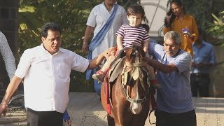 Taimur Ali Khan Having Horse Ride In Mumbai - Watch Video