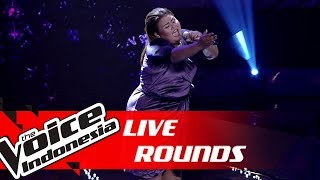 Artha - Bed of Roses (Bon Jovi) | Live Rounds | The Voice Indonesia GTV 2019