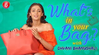 'What's In Your Bag Dhvani Bhanushalis CRAZY Obsession With Books Revealed