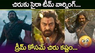 Chiranjeevi Perform Underwater fight Scenes Sye Raa Narasimha Reddy