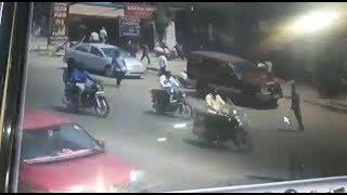 ATM Van Looted | 70 Lakhs Rupees Cash Looted From Atm Van In Vanastalipuram | @ SACH NEWS |
