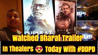 My Reaction On Watching BHARAT Trailer Today On Big Screen In Theater While Watching De De Pyaar De