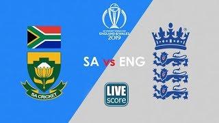 Live Cricket Score! | England vs South Africa |  World Cup Cricket 2019 | Satya Bhanja