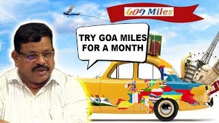 Govt Firm On Goa Miles, Sopte Urges Cabbies To Try Goa Miles For A Month