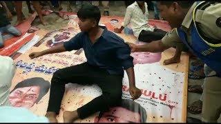 Whitners Ka Hungama   Fasaad Hote Hote Ruk Gaya At Mallapally Habeeb Nagar  