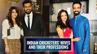 10 Indian cricketers' wives and their professions