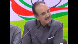 'Advisory has scared people of J&K and need clarity from Centre', says Ghulam Nabi Azad