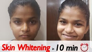 Skin Whitening Facial at Home | Instant Glow Facial | JSuper Kaur