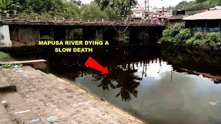 Tar River Polluted, Mapxekars Have Nowhere To Immerse Ganesha Idol