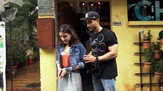 Kunal Khemu With Soha Ali Khan Spotted At Chin Chin Chu