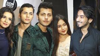 Tik Tok Stars Mr Faisu, Jannat Zubair, Siddharth Nigam, Avneet Kaur At Abhishek Nigam Birthday Party