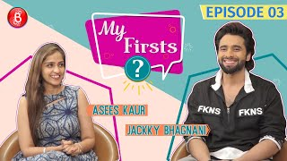 Jackky Bhagnani LEAKS In Front Of Asees Kaur That He Auditioned For Band Baaja Baaraat | My Firsts