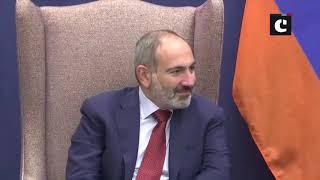 PM Modi meets Nikol Pashinyan, Prime Minister of Armenia, in New York