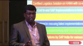 Preferred partner of SAP India with Gold Partner Status: Subin Thankabai,  Vcentric