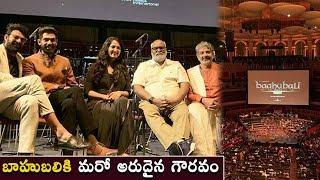 బాహుబలికి మరో అరుదైన గౌరవం | Bahubali Screened At Royal Albert Hall In London