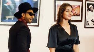 Ranveer Singh And Dhvani Bhanushali At Shiamak Davar's Dance Show