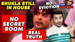 Good News! Siddharth Shukla NOT EVICTED; Here's The Truth | Bigg Boss 13 Latest Update