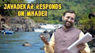 "Prakash Javadekar Responds: ""Kalasa-Banduri Project Is More Than Drinking Water Project"""