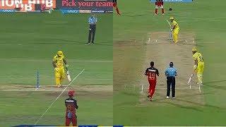 IPL 2018 CSK VS RCB : M.S.DHONI 70 Run in 34 Ball CSK VS RCB