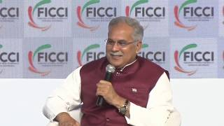 Mr Bhupesh Baghel, CM, Chhattisgarh at #FICCIAGM