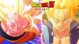 Super Saiyan Goku vs Trucks Super Saiyan Fight - Dragon Ball Z Kakarot
