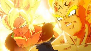 Goku Super Saiyan vs Vegeta Super Saiyan Final Fight Dragon Ball Z Kakarot