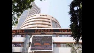 Sensex drops 208 pts, Nifty a tad above above 12,100; HDFC falls 2%
