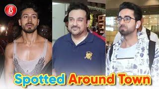Ayushmann Khurrana, Adnan Sami And Tiger Shroff Spotted Around B-Town