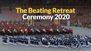 PM Modi attends Beating Retreat Ceremony 2020 at Vijay Chowk in Delhi | PMO
