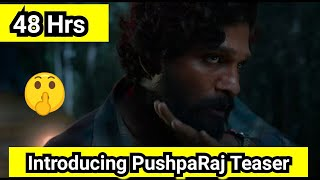 Introducing PushpaRaj Teaser Record Breaking Views In 48 Hours, On Its Way For 50 Million Views
