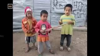 Anupam Kher Shared The Best Musical Band Ever. Kids Cutest Band Video ????