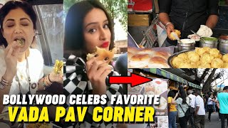 Bollywood Celebs Favorite VADA PAV Corner | Anand Stall Mumbai's Best Vada Pav