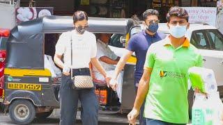 Gauahar Khan Aur Zaid Darbar Shopping Karne Pahunche Lokhandwala