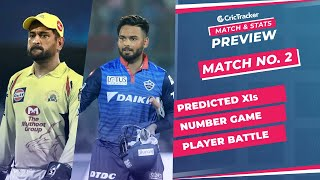 IPL 2021: Match 2, CSK vs DC Predicted Playing 11, Match Preview & Head to Head Record - April 10th