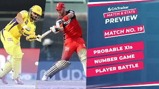 IPL 2021: Match 19, CSK vs RCB Predicted Playing 11, Match Preview & Head to Head Record - Apr 25th
