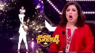 Super Dancer 4 Promo | Super Guru Sanam Aur Spriha Ke Performance Se Farah Aur Remo Shocked