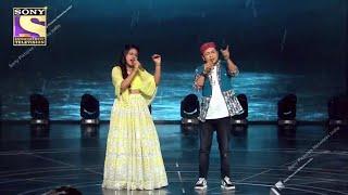 Pyar Hua Ikrar Hua Hai Song पर Pawandeep Arunita का Soulful Performance | Indian Idol 12