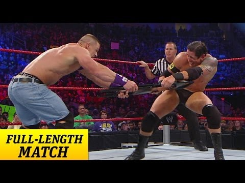 FULL-LENGTH PPV MATCH - TLC 2010 - John Cena vs. Wade Barrett - Chairs Match - WWE Wrestling Video