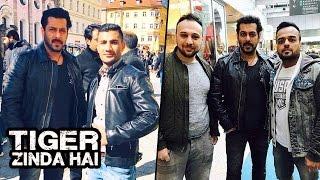 Salman Khan POSES With Fans In Austria On Tiger Zinda Hai Sets