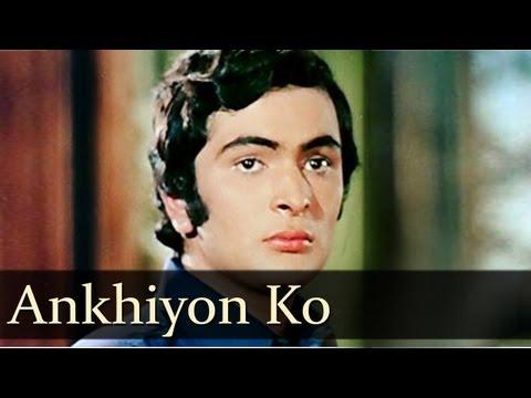 Ankhiyon Ko Rehne De - Dimple Kapadia - Rishi Kapoor - Bobby - Bollywood Evergreen Songs - Lata Superhit Song