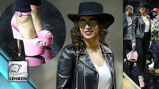 Beyonce's MJ Look & Pink Heels STEAL The Show @ NBA Game | JayZ
