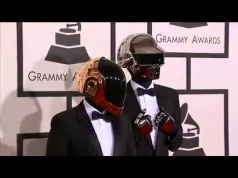Grammy Awards 2014 Full Show - Daft Punk Red Carpet Grammy 2014 Awards Daft Punk