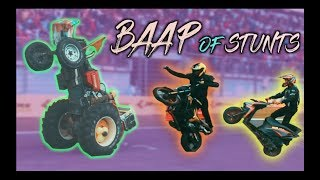 Never Seen Stunts Like This(Dangerous Stunts-Do Not Attempt) | Buddh International Circuit