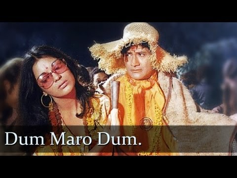 Dum Maaro Dum - $exy Zeenat Aman - Dev Anand - Hare Rama Hare Krishna - Bollywood Evergreen Hits Superhit Song